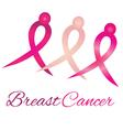 Breast cancer logo awareness ribbons