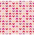 Chevron seamless pattern tile zig zag background vector image vector image