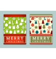 Flyer Templates with Holiday Backgrounds vector image vector image