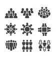 group of peoplepopulation icon vector image vector image