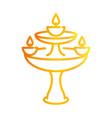 happy diwali india festival deepavali religion vector image vector image