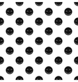 Joyful smiley pattern simple style vector image vector image