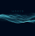 music wave background sound wave abstract vector image