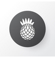 pineapple icon symbol premium quality isolated vector image