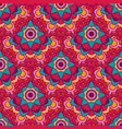seamless pattern of geometric stylized vector image