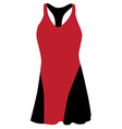 Sport dress vector image
