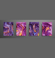 swirls of marble or the ripples of agate liquid vector image vector image