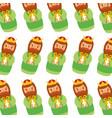 manger wise king christmas seamless pattern image vector image