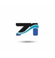 71th Year anniversary design logo vector image vector image