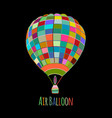 air balloon for your design vector image vector image