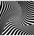 Design monochrome triangle movement background vector image