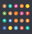 Glyphs Colored Icons 46 vector image