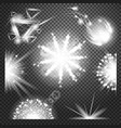 special effects collection set of various vector image vector image