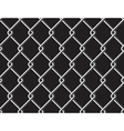 Steel mesh metalic fance black seamless background vector image vector image