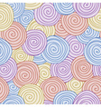 Abstract seamless background spiral pattern vector image