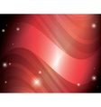 abstract red background with stars and gradient vector image
