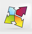 graphic element arrow vector image vector image