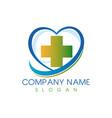 medical center logo vector image