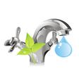 nature resource - water vector image vector image