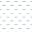 pot cactus pattern seamless vector image vector image