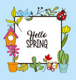 seasonal weather spring vector image