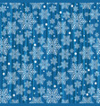 striped winter seamless christmas blue pattern vector image vector image