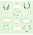Wedding elements set vector image vector image
