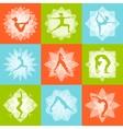 Yoga Design Concept vector image vector image