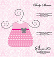 Baby Shower Announcement vector image