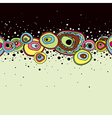 Abstract hand draw background vector image
