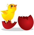 Chicken and easter egg vector | Price: 1 Credit (USD $1)