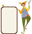 Clown Signboard vector image