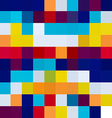 Colorful mosaic tile texture vector image