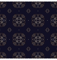 Gold seamless pattern vector image