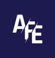 monogram letters initial logo design afe