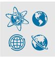Planet symbol vector image