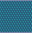 small jewish star pattern vector image vector image