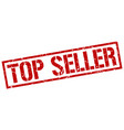 top seller stamp vector image vector image