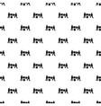 building teamwork pattern seamless vector image vector image