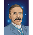ernest rutherford vector image vector image