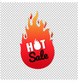hot sale label isolated transparent background vector image vector image