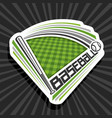 logo for baseball sport vector image