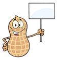 Protesting Peanut Cartoon vector image vector image