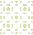 Set of Paper Dollars Seamless Pattern vector image