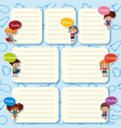 seven days of the week and happy children vector image vector image