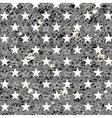 Starry Grunge Grey Background vector image vector image