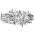 why it pays to specialize text word cloud concept vector image vector image