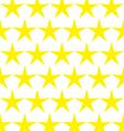 Seamless pattern of yellow stars vector image