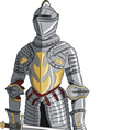 armor d vector image vector image