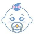 baby face happy